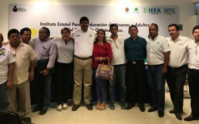 Se reúne Comité Sindical del IEEA para evaluar trabajo
