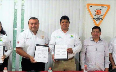 El IEEA y SUCHAA firman convenio de colaboración para trabajar de manera coordinada para abatir el rezago educativo en el municipio