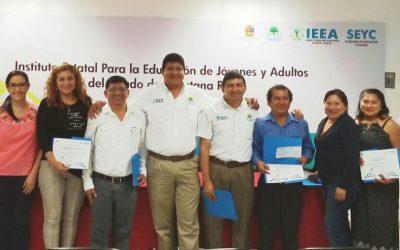 IEEA entrega reconocimientos y pago de estímulos por años de servicio a trabajadores
