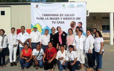 IQM inaugura la Caravana de Salud para la Mujer y Médico en tu casa