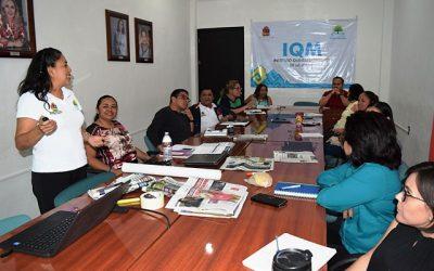 IQM promueve el lenguaje incluyente no sexista a la planta laboral de instituciones públicas y federales