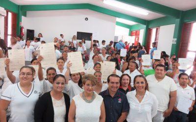 ICATQR capacita y certifica a más de 170 cancunenses