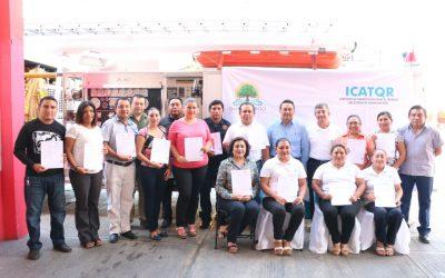ICATQR certifica a personal de protección civil de Cozumel
