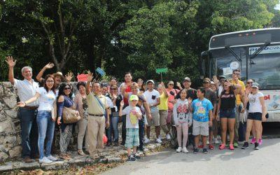 Más familias de Quintana Roo viajan y descubren el paraíso donde viven