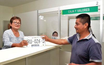 En 3 días ya se entregaron más de 6 mil nuevas placas en el estado