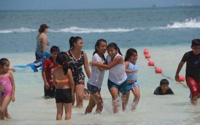 Niños de comunidades mayas viajan a Cancún y realizan intercambio cultural con China