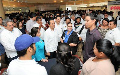 Quintana Roo es líder nacional en generación de empleos: Carlos Joaquín