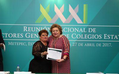 El plantel Conalep Cozumel recibe reconocimiento nacional por su calidad educativa