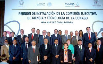Quintana Roo participa en reunión de instalación de la Comisión Ejecutiva de Ciencia y Tecnología de la CONAGO