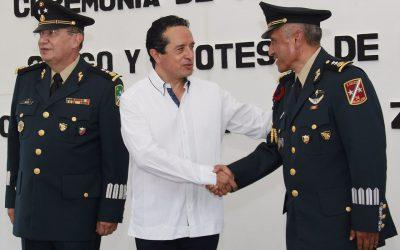El Ejército es un aliado importante para proteger a la gente: Carlos Joaquín