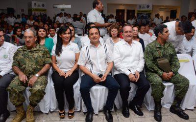 Con instalaciones policiales adecuadas protegemos mejor a la gente: Carlos Joaquín