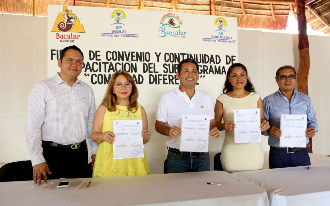 DIF Quintana Roo hace alianzas para sumar esfuerzos y disminuir la desigualdad de las zonas rurales