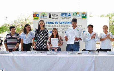 Convenio de colaboración entre IEEA y Ayuntamiento de Tulum para dar más y mejores oportunidades a personal de la comuna y sus familias