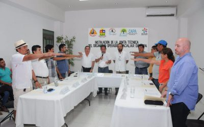 Se crea la Junta Técnica del organismo operador de la CAPA en Bacalar