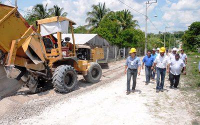 El gobierno de Carlos Joaquín cumple y da inicio a la construcción del sistema integral de agua potable para Caobas y San Antonio Soda