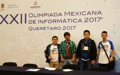 Por segundo año consecutivo estudiantes del CONALEP participan en la Olimpiada Mexicana de Informática