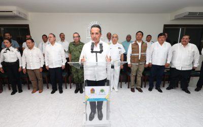 ((FOTOS)) Instala el Gobernador Carlos Joaquín el Comité Operativo Especializado en Fenómenos Hidrometeorológicos 2017