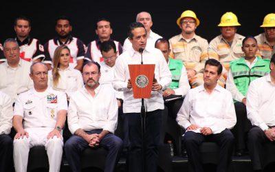Con la prevención ante riesgos y desastres disminuimos la desigualdad: Carlos Joaquín