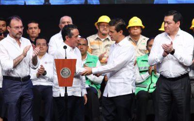 """((FOTOS)) El Gobernador Carlos Joaquín asiste al evento """"Inicio de Temporada de Lluvias y Ciclones Tropicales 2017"""
