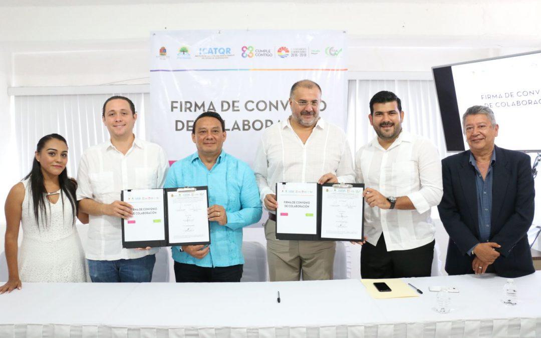 ICATQR – ICCAL firman convenio en beneficio de los quintanarroenses