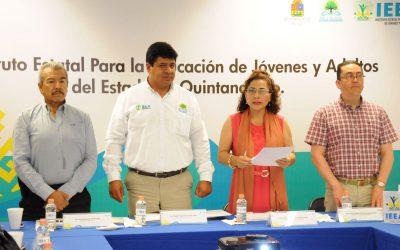 Reunión del IEEA con diversos organismos del estado