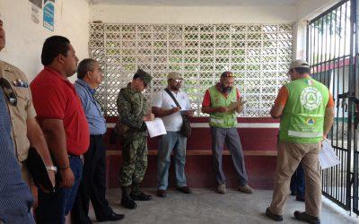 Verifican refugios y albergues de Felipe Carrillo Puerto y Benito Juárez