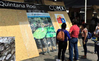 """Continúa la promoción de los destinos turísticos de Quintana Roo en la Feria """"México en el Corazón de México"""""""