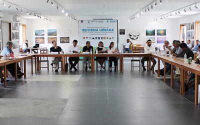 Encabeza Seduvi Tercer Foro de Consulta Ciudadana para crear Leyes de Reforma Urbana del Estado