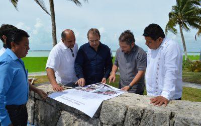 Seduvi, Sintra y Ayuntamiento de OPB impulsan programa de rehabilitación de parques y monumentos históricos