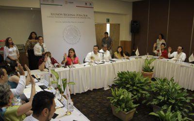 Inauguran Reunión Regional Zona Sur del Consejo Nacional de Funcionarios del Registro Civil 2017 en Chetumal