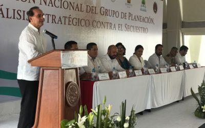 Realizan la 21ª Reunión Nacional del Grupo de Planeación, Análisis Estratégico contra el Secuestro.