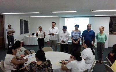 Personal de la SEMA y de la SP participan en curso taller sobre la elaboración de instrumentos archivísticos