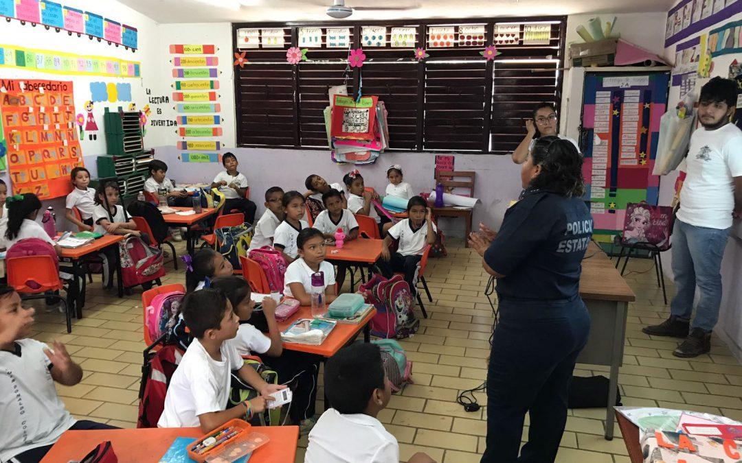 Fortalece la SSPQROO autocuidado y prevención de bullying en escuelas
