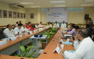 Participa Catalina Portillo en la Primera Sesión de la Comisión de Productividad