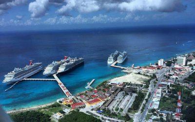 Es Cozumel, Quintana Roo, el principal puerto de cruceros del mundo