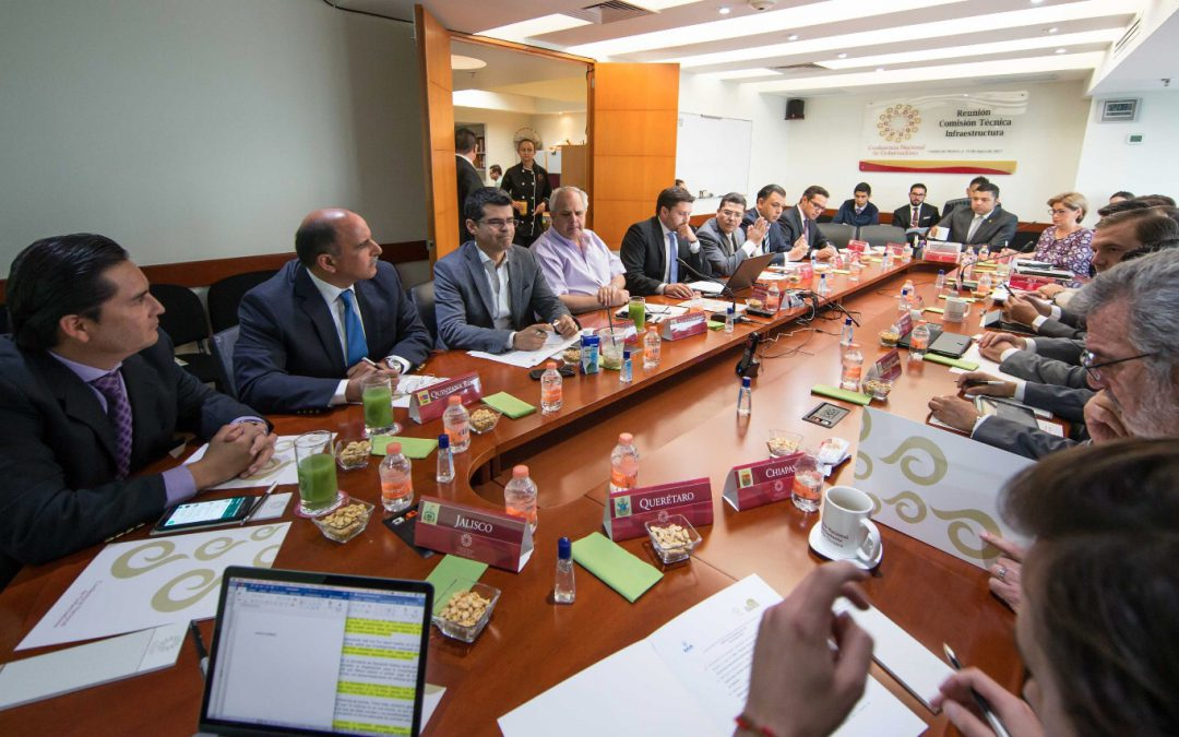 Se lleva a cabo la comisión de infraestructura de la conferencia Nacional de Gobernadores en la ciudad de México