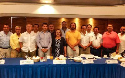 Fructífero encuentro entre Administración Portuaria Integral y Asociados Náuticos de Quintana Roo