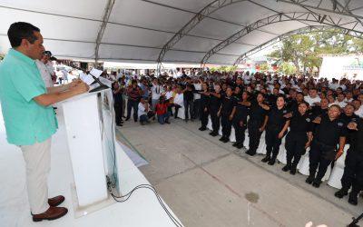 ((FOTOS)) Buenas prácticas policiales y protocolos para proteger la integridad de las mujeres: Carlos Joaquín