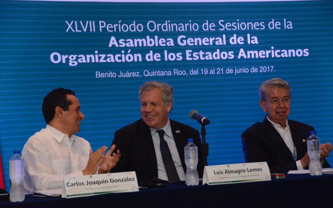 ((VIDEO)) El Gobernador Carlos Joaquín participa en el Foro del Sector Privado de las Américas