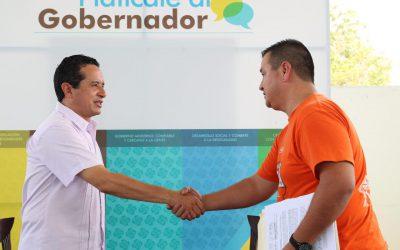 Escuchamos a la gente para resolver sus necesidades: Carlos Joaquín