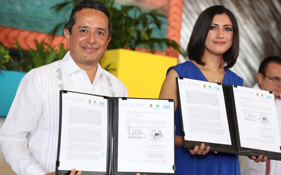 ((VIDEO)) Mi administración está comprometida con todas las mujeres: Carlos Joaquín