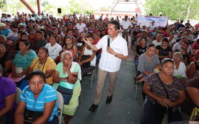 (( VIDEO)) El Gobernador Carlos Joaquín entrega de Certificados y colocación de la primera piedra del Programa de Vivienda Rural e Indígena 2017