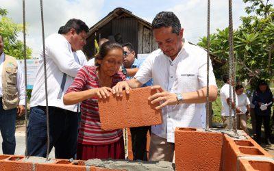 ((FOTOS)) El Gobernador Carlos Joaquín entrega de Certificados y colocación de la primera piedra del Programa de Vivienda Rural e Indígena 2017