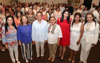 En Quintana Roo avanzamos todos juntos hacia la equidad de género: Carlos Joaquín