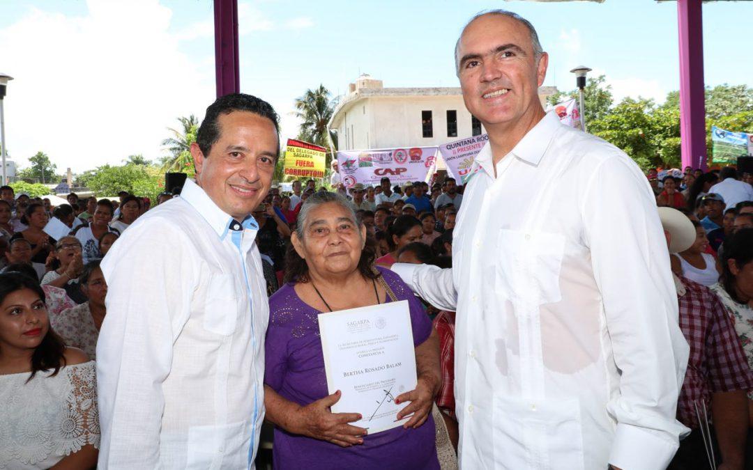 Llegó la hora del campo, de pasar del compromiso a los resultados: Carlos Joaquín