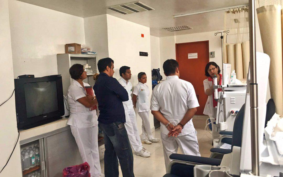 Quintana Roo cuenta con equipos de alta tecnología en salas de hemodiálisis