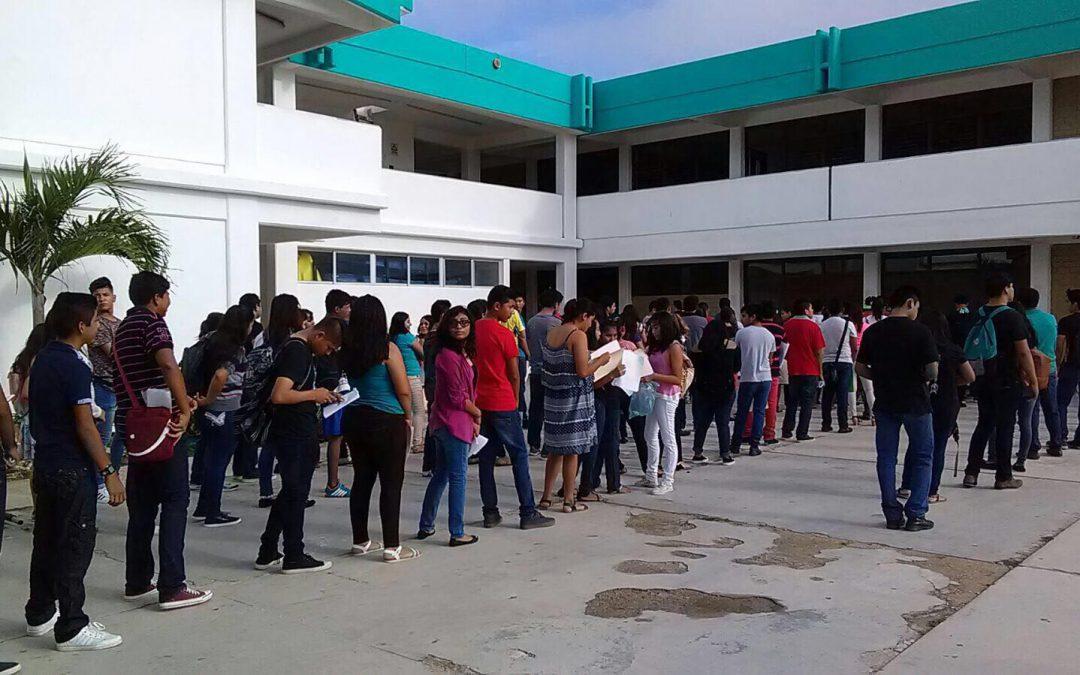 Un total de 20 mil 695 aspirantes presentaron el examen de admisión para ingresar al bachillerato