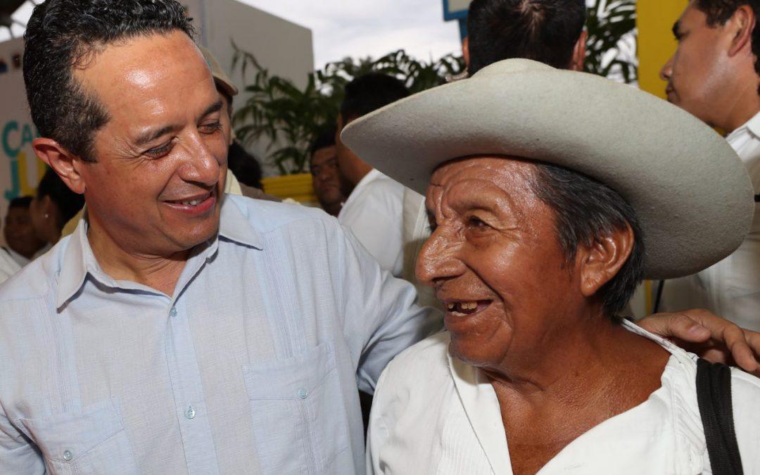 Atención directa a la gente del campo para disminuir la desigualdad: Carlos Joaquín