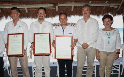 ((FOTOS)) El Gobernador Carlos Joaquín en la entrega del Certificado de Inclusión de la Reserva de la Biósfera Isla Cozumel.