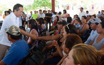 Para que disminuya la desigualdad, impulsamos el desarrollo del estado: Carlos Joaquín